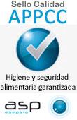 Sello de Calidad de Asp Ozono APPCC