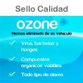 Sello de Calidad de Asp Ozono para Vehículos