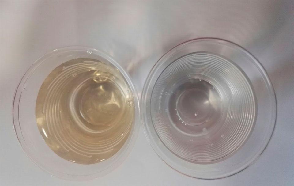 tratamiento de manganeso en agua